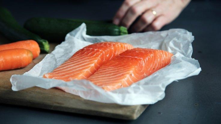 Photo of salmon filets