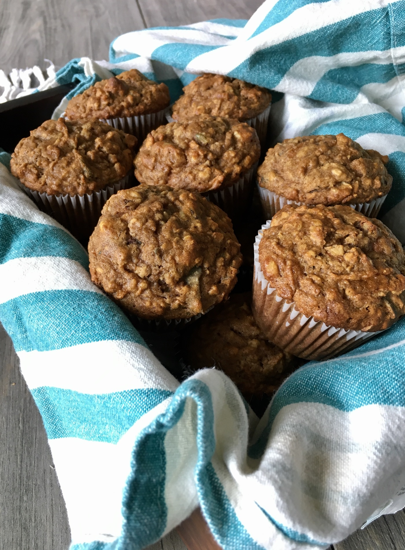 Photo of gluten-free apple cinnamon muffins