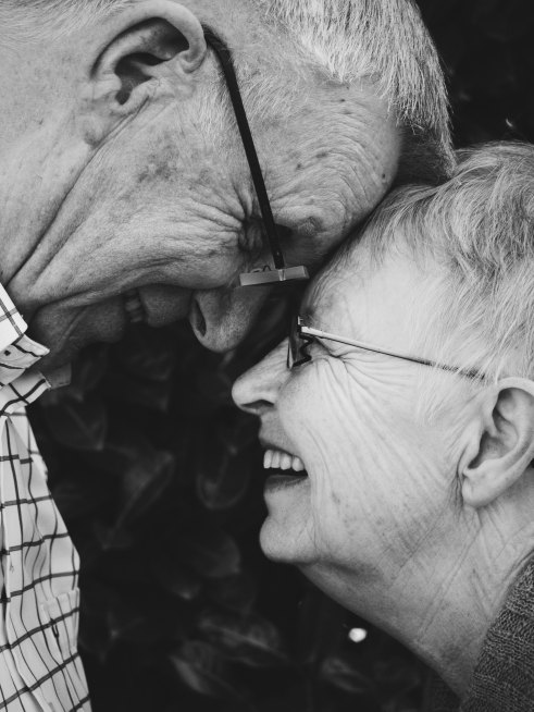 Photo of a Happy older couple