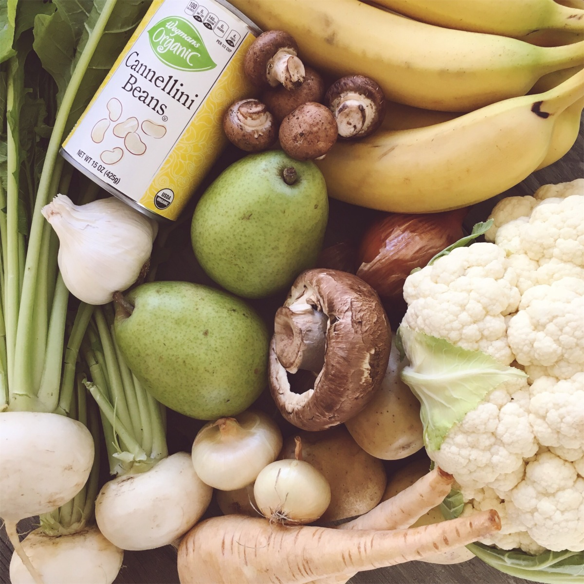 Why You Need Fruits & Vegetables: WHITE Edition (plus a bonus soup recipe!)
