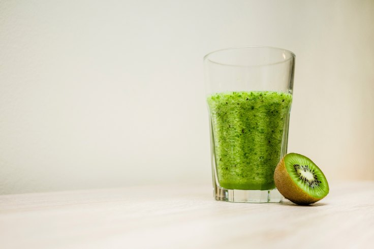 photo of a green smoothie