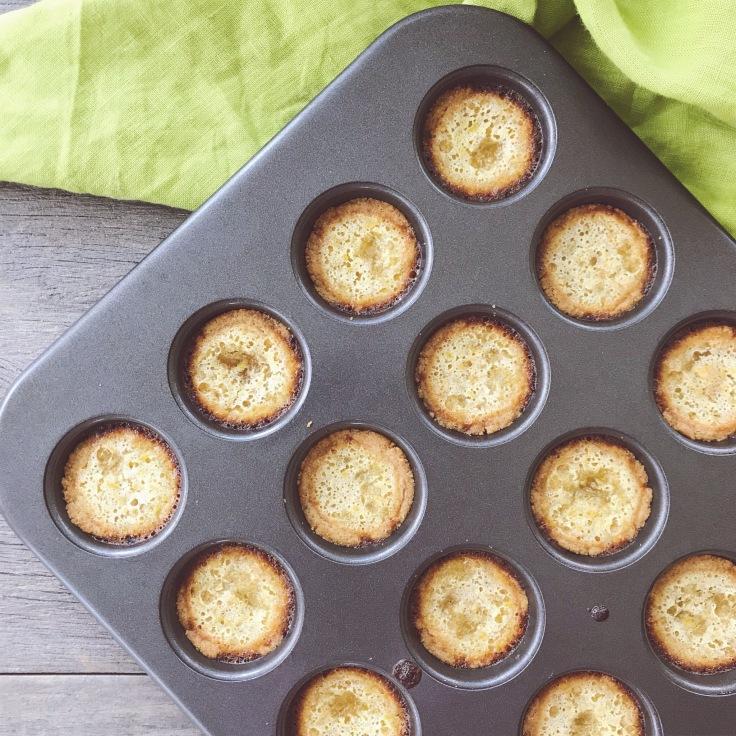 Photo of baked lemon tarts